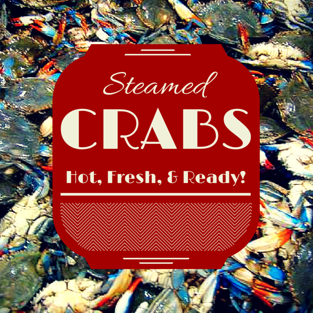 Steamed crabs Maryland