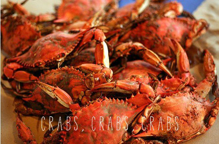 Serving Steamed Crabs in Maryland
