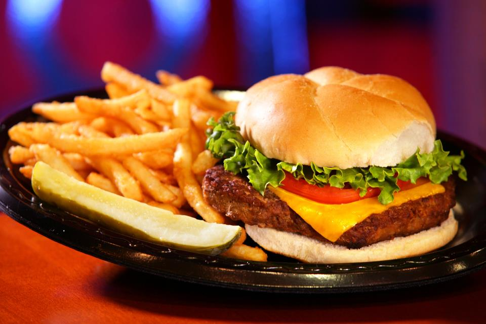 $5 Burgers at the River Shack in Maryland