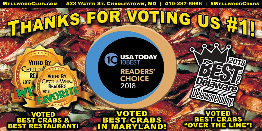 Voted1st for Crabs